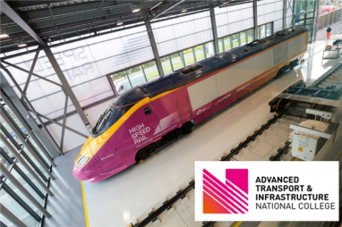 National College for High Speed Rail rebrands to reflect wider transport and infrastructure remit.