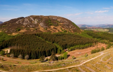 The site of AECOM's proposed new natural capital laboratory near Loch Ness in the Scottish Highlands.
