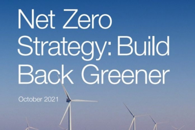 Government unveils Net Zero Strategy for 440,000 jobs and £90bn investment on path to 2050 net zero commitment.