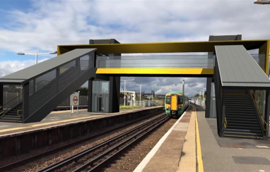 Network Rail set to use use augmented reality to show the next generation of railway footbridges, bringing architects designs directly to passengers smartphones.
