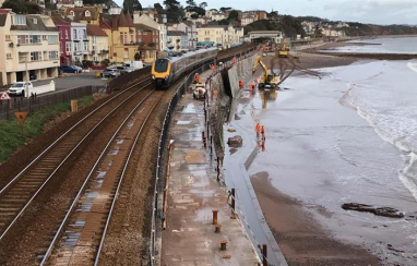 Work to protect the only railway line into Devon and Cornwall has taken a significant step forward.