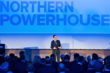Former chancellor George Osborne is calling on the government to fund the Northern Powerhouse Rail project.