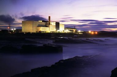The prototype fast reactor at Dounreay. PHOTO: Dounreay Site Restoration Ltd.