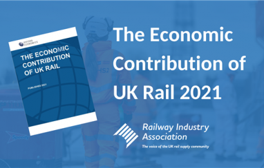 Rail industry publishes new report on the economic value of rail in the post-Covid recovery.