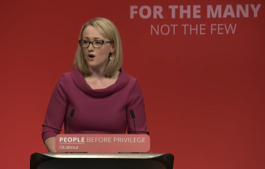 Shadow secretary for business, energy and industrial strategy, Rebecca Long-Bailey, summing up the climate debate at Labour's conference in Brighton.