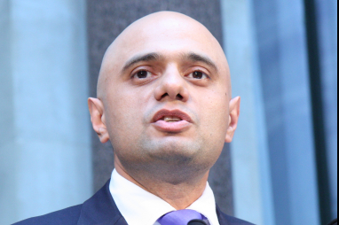 Communities secretary, Sajid Javid.