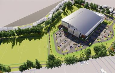 Building work set to begin on £73m Commonwealth Games aquatics centre.