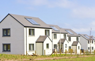 The Scottish government commits an extra £300m for affordable housing beyond 2021.