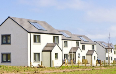 Number of new build homes started in Scotland in the year to September 2019 tops highest annual figure since 2007.