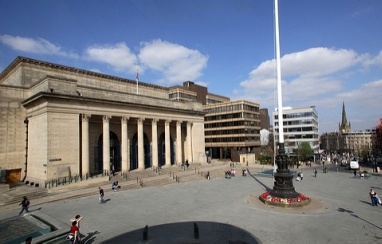 Sheffield City Hall. (Photo courtesy of Sheffield City Council).