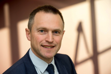 Simon Ellison, Costain's new rail sector director.