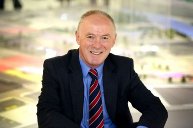 Sir Richard Leese, leader of Manchester City Council.