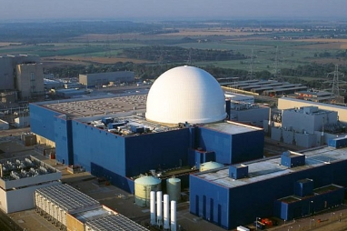 Britian's most recent nuclear plant - Sizewell B in Suffolk