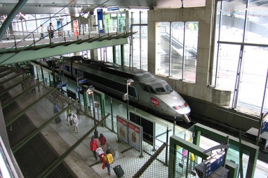 High speed rail revitalised Lille in France