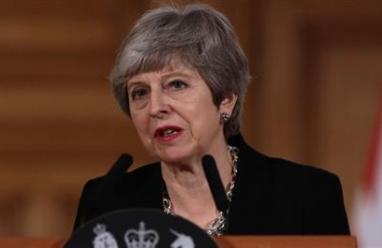 Prime minister, Theresa May.