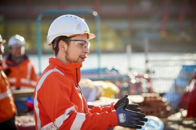 Tideway apprentice Ray Cantwell.