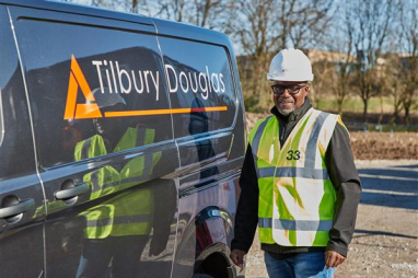 Cliff Lewis, group fleet director of the newly rebranded Tilbury Douglas Construction.