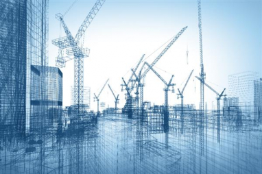 Optimistic outlook as construction output expands at sharpest pace since September 2014.
