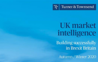 UK construction should activate risk management strategies before end of Brexit transition period, according to Turner & Townsend.