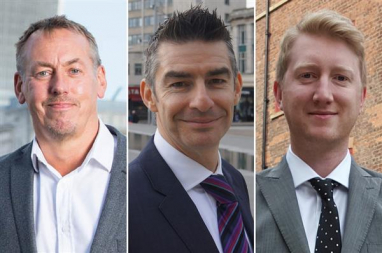 Mark Terndrup, Jonathan Purcell and Steven Halmshaw have been appointed as the new leadership team for Waterman's building services operation.