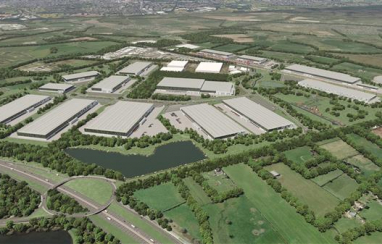 The proposed new Strategic West Midlands Interchange is set to create 8,500 jobs.