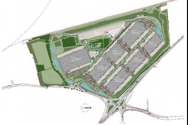 Winvic begin £107.5m infrastructure work for Strategic Rail Freight Interchange at SEGRO Logistics Park Northampton Gateway.