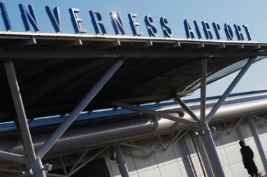 The new station at Inverness Airport will cost £2m.