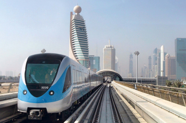 The Dubai Metro project, on which both GHD Group and Movement Strategies have worked.