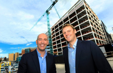 eviFile product director, Ed Williams and chief executive, Nick Halliday.