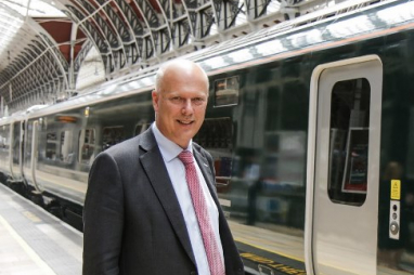 The north needs to step up to shape its own transport destiny, says transport secretary Chris Grayling.