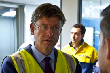 Business secretary, Greg Clark MP.