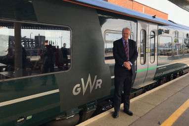 Transport secretary, Chris Grayling, is standing firm on his decision to cancel rail electrification schemes.