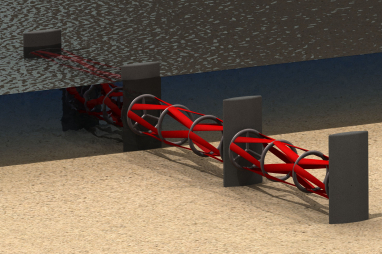 Kepler Energy's tidal fence