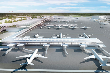 Manchester Airport redevelopment will be enhanced by a link to HS2.