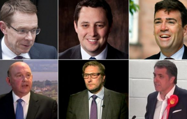 The new metro mayors in England are all men and so are most of their cabinets.