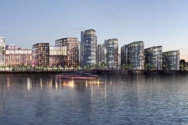 Development plans for the Nine Elms site.