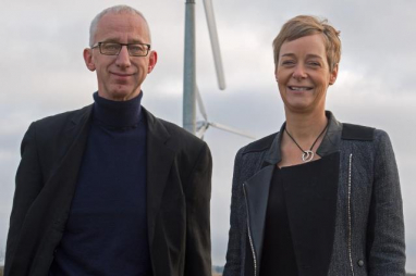 David Pike and Karin Sode, the couple behind People's Energy.