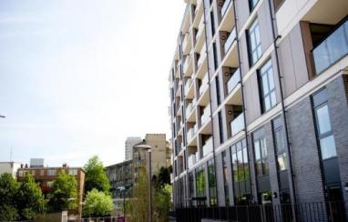 Housing in Tower Hamlets, London.