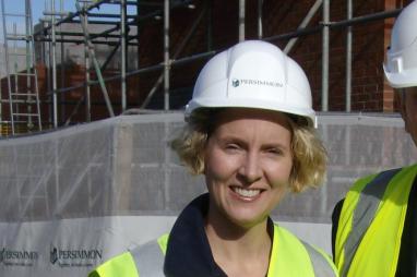 Shadow Housing Minister Emma Reynolds backs local builders