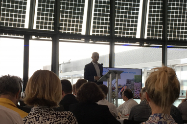 London mayor speaking at the launch of the Transport expenditure in London report.