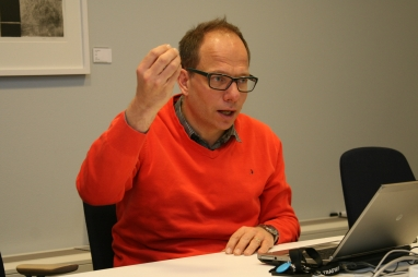 Johan Brantmark, project director for the Stockholm bypass