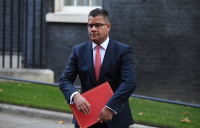 Secretary of state for business, energy and industrial strategy, Alok Sharma.