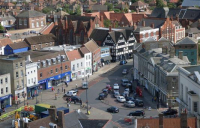 Boston, Lincolnshire. One of 100 English towns potentially set to benefit from the £3.6bn Towns Fund.