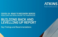 Atkins new report outlines key recommendations for green post-Covid recovery and levelling up in the north.