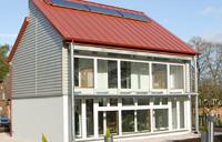 Nottingham University Creative Energy Homes project