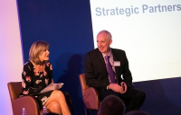 Leo Quinn, Balfour Beatty Group chief executive speaks to broadcaster, Penny Smith.