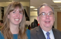 Dr Lauren Tewson and Roy Lobley of BWB Consulting
