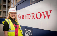 Bailey Holland-Knightly, Redrow painter and decorator.