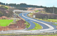 The troubled Aberdeen bypass project which has saddled Galliford Try with extra costs of £38m.