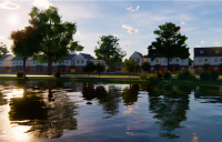 Princeton Gardens, Stockton-on-Tees, which, on completion, will be the largest housing scheme delivered entirely through Modern Methods of Construction (MMC) in the north of England.